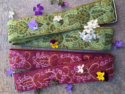 Forest Dweller Fair Trade Embroidered Belt