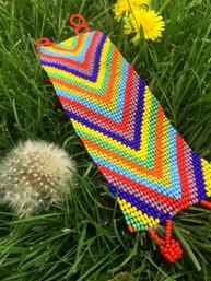 Rainbow Fair Trade Bracelet