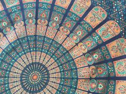 Fair Trade Mandala Moon Tapestry - Dusk (Large)