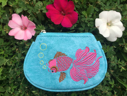 Under the Sea Eco-Friendly Vegan Change Purse