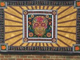 Sweet Sugar Skull Tapestry