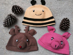 Little Animal Friends Children's Hat