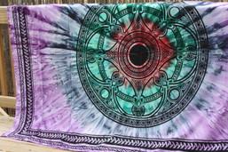Cavern Echo Tie Dye Tapestry