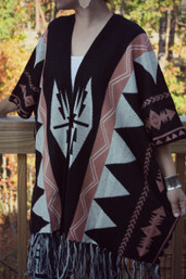Drum Circle Dancer Fringe Sweater