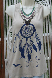 Sweet Dreams Fair Trade Dreamcatcher Tank