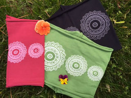 Mandala Balance Organic Cotton Fair Trade Headwrap (6 colors to choose from!)