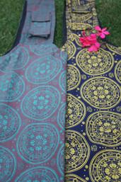 Peaceful Breaths Fair Trade Yoga Bag