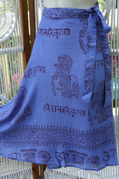 Peace & Meditation Fair Trade Wrap Skirt