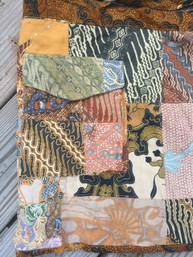 Fair Trade Patchwork Apron Skirt