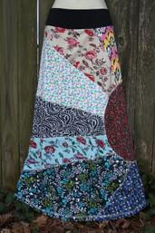 Sweet Sunshine Fair Trade Patchwork Skirt II