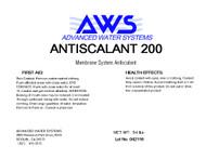 Reverse Osmosis Membrane Antiscalant