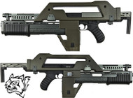 Snow Wolf M41A Pulse Rifle AEG AKA The Alien Gun
