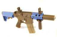 ARES M4 CQC SD Airsoft Gun in Black