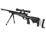 Well MB12 Custom VSR10 Airsoft Sniper Rifle in Black