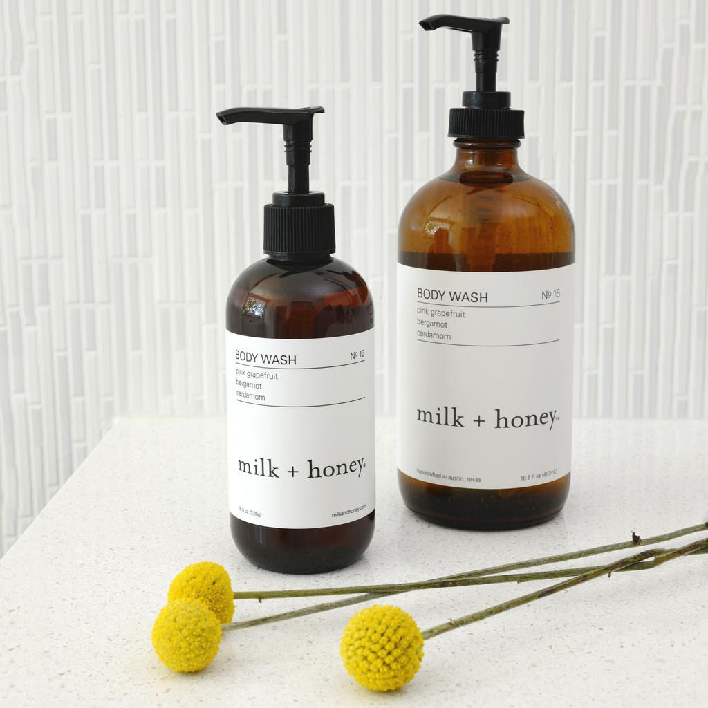 Body Wash - Ylang Ylang, Rose Geranium, Petitgrain