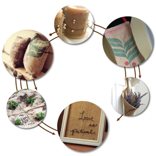 Do-It-Yourself project ideas using Burlap Have fun!
