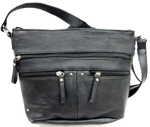 Washed Faux Leather beautiful texture care free women's crossbody bag handbag purse