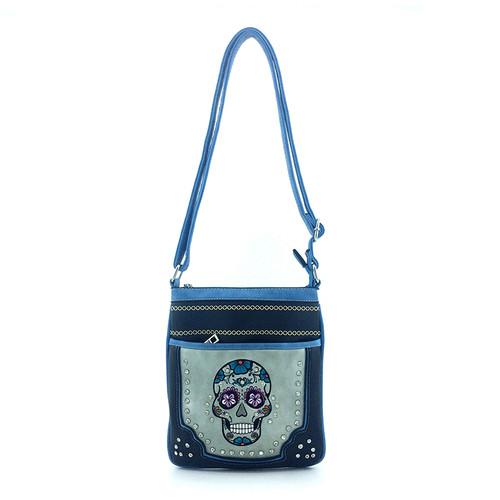 Yesir Women's Imported Soft Faux Leather Crossbody Messenger Shoulder Bag Handbag Purse