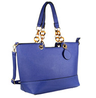 Alyssa Elegant Designer Inspired Faux Leather Tote Shoulder Handbag