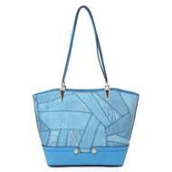 Kangaroo Women's Fashion Puzzle Handbag Leather Shoulder Tote Bags and Purses