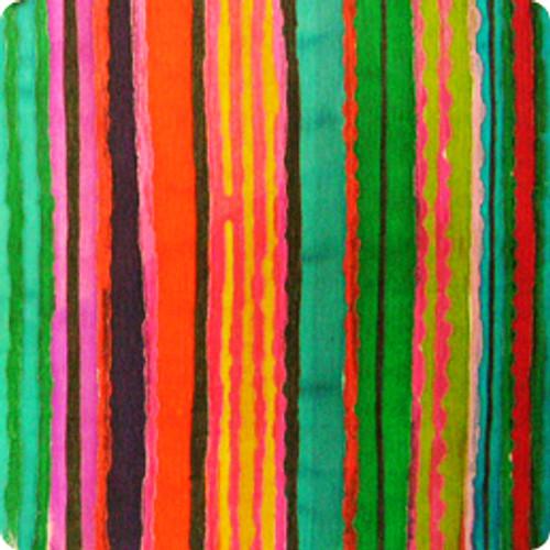vallarta stripe fuchia/red