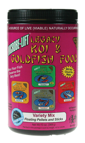 Microbe-Lift Legacy Koi and Goldfish Food - Variety Mix 11 oz.
