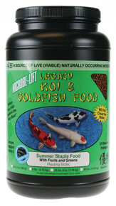 Microbe-Lift Legacy Koi and Goldfish Food - Fruits & Greens 2 lb.