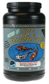 Microbe-Lift Legacy Koi and Goldfish Food - Immunostimulant 1 lb. 12 oz.