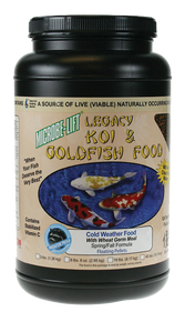 Microbe-Lift Legacy Koi and Goldfish Food - Cold Weather 2 lb. 4 oz.