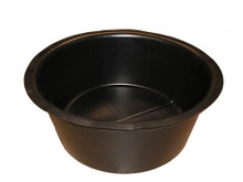 "Solid Round Plant Containers - 2 1/2 Gallon (12"" x 6"")"