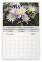 Lilyblooms 2017 Wall Calendar - October