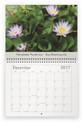Lilyblooms 2017 Wall Calendar - December