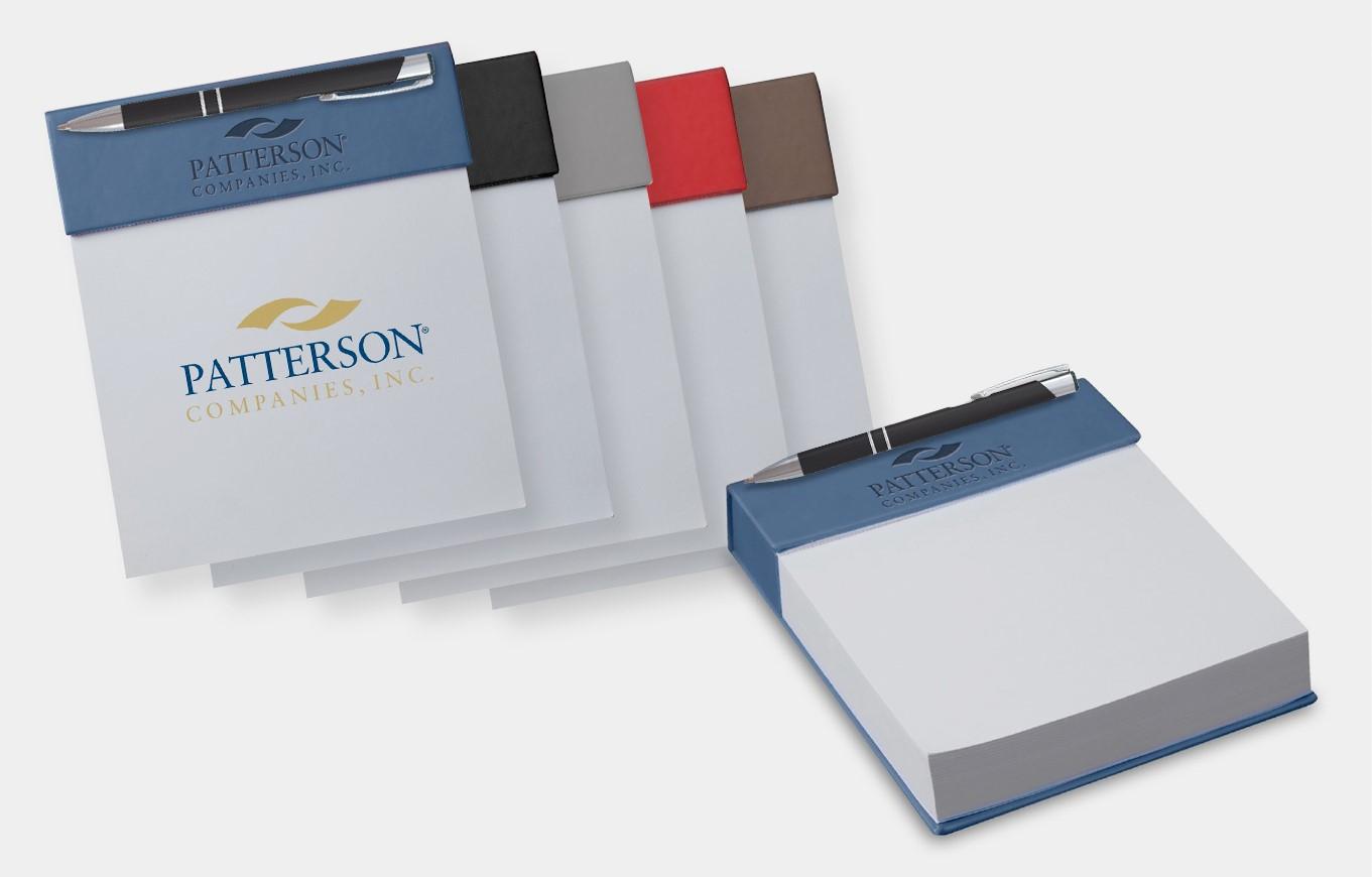 Desktop Notepad with Pen Holder