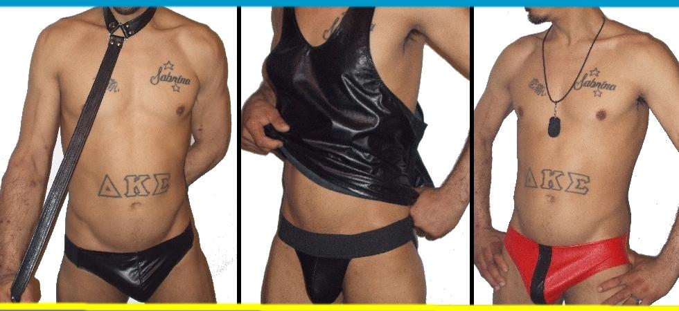 leather underwear