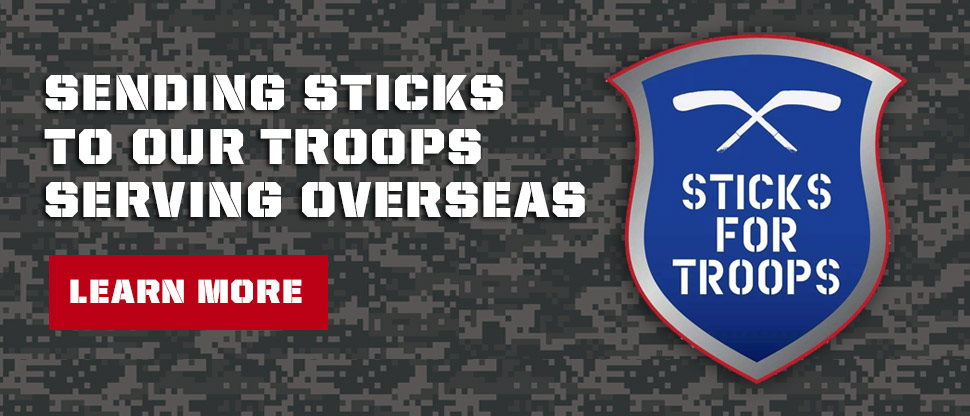 Bison Hockey Sticks - Sticks For Troops