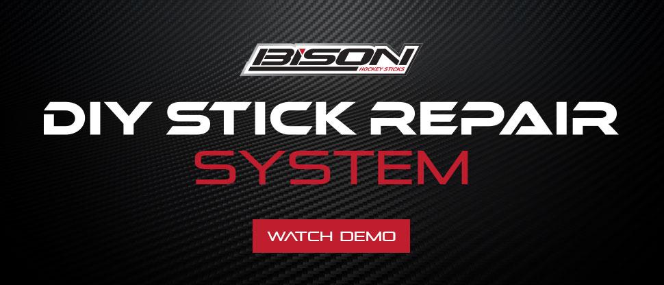 Do it yourself hockey stick repair kit by Bison Hockey Sticks