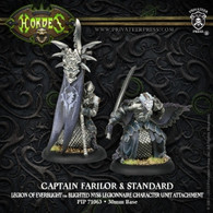 Captain Farilor & Standard Blighted Nyss Legionnaire