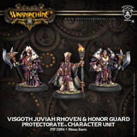 Visgoth Juviah Rhoven & Honor Guard