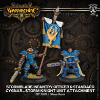 Stormblade Infantry Officer & Standard