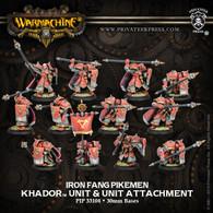 Iron Fang Pikemen & Unit Attachment