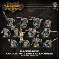 Black Dragons & Unit Attachment