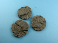 Shrine Bases, Round 50mm (2)