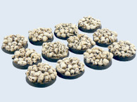Skulls Bases, Round 25mm (5)