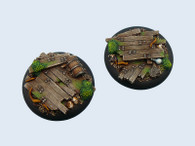 Wood Bases, WRound 50mm (1)