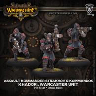 Assault Kommander Strakhov & Kommandos