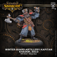 Winter Guard Artillery Kapitan