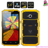 """Tough Kid"" MFOX A7 Pro Rugged Smartphone - 5.5"" Touchscreen 1920x1080 4G LTE"