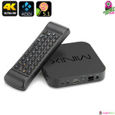 """Podster"" Minix Neo Smart TV Box (with Air Mouse) - Quad-core CPU 4K Ultra HD"