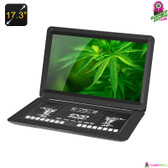 """Oyoloo"" Portable DVD Player - 17.3"" TFT LED Screen 1366x1280 Resolution"
