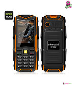 """Armortrack"" Vkworld Rugged Mobile Phone (Orange) - 2.4"" Screen Bluetooth"